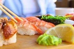 łasowania jedzenia japończyk Obraz Stock