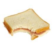 łasowania karmowa posiłku kanapki przekąska Fotografia Royalty Free