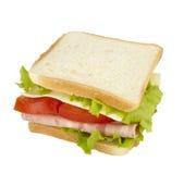 łasowania karmowa posiłku kanapki przekąska Fotografia Stock