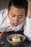 Łasowania tofu fotografia royalty free