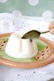 Łasowanie pudding obrazy stock