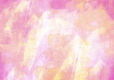 Łat i menchii wodnego koloru grafiki koloru muśnięcie muska łaty Obrazy Royalty Free