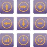 łatwe tło ikony zamieniają przejrzystego cienia wektor Zdjęcie Stock