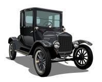 10 łatwi ai dostępnych samochodowych redaguje formata grupy oddzielającego wektorowego rocznika royalty ilustracja