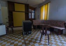 łatwość w starym domu zdjęcie stock
