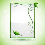 Świeży liścia tło royalty ilustracja