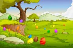 Wielkanocny tło Obraz Royalty Free