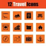 łatwy redaguje ikony wizerunek ustawiającego target29_0_ wektor royalty ilustracja