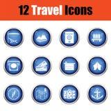 łatwy redaguje ikony wizerunek ustawiającego target29_0_ wektor ilustracji