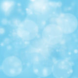 łatwy używać błękitny tła bokeh Obraz Royalty Free