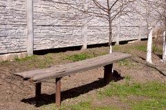 Ławka dla zmęczonego podróżnika Zdjęcia Stock
