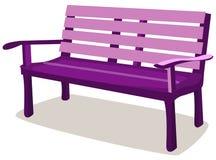 ławka drewniana Zdjęcie Stock