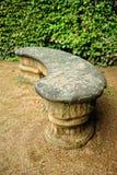 ławka kamień Zdjęcia Stock