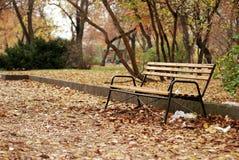 ławka park Zdjęcie Stock