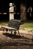 Ławka przy willą Borghese Obraz Royalty Free