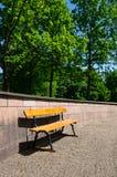 Ławka w słońcu Obraz Stock