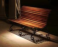 ławki światło reflektorów Fotografia Stock