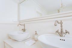 Łazienka dla pary zdjęcie stock