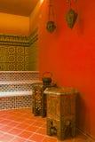 łazienka etniczna zdjęcia stock