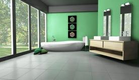 łazienka las Fotografia Stock