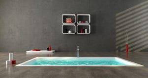 łazienka minimalista ilustracja wektor