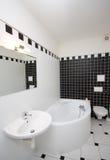 łazienka nowożytna obrazy stock