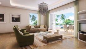 Łazienka nowożytny styl Fotografia Royalty Free