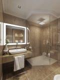 Łazienka nowożytny styl zdjęcia stock