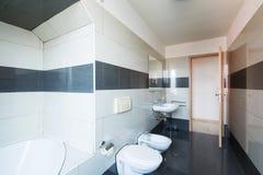 Łazienka, pusty i czysty zdjęcie royalty free