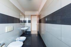 Łazienka, pusty i czysty fotografia royalty free