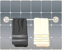 Łazienka ręczniki Obraz Royalty Free