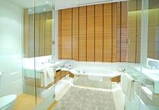 Łazienka w domu obrazy royalty free