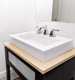 Łazienka zlew obrazy stock