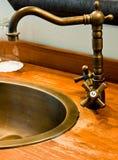 łazienki faucet Obrazy Royalty Free