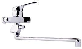 Łazienki faucet odizolowywający Zdjęcie Stock