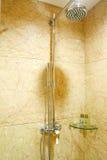 łazienki prysznic fotografia stock
