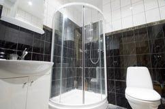 łazienki prysznic fotografia royalty free