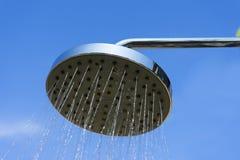 Łazienki prysznic głowa obrazy royalty free