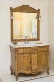 łazienki wnętrza luksus Fotografia Royalty Free