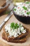 Łeb chałupy ser z ziele Zdjęcie Royalty Free