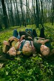 łgarskie kobiety Fotografia Royalty Free