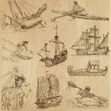 1 łodzi royalty ilustracja