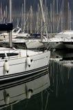 łodzi przyjemność Obrazy Royalty Free