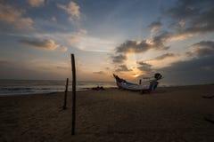 łodzi tajlandzki długi ogoniasty Obraz Stock