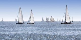 łodzi target898_1_ Zdjęcie Stock