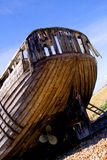łodzi wyrzucać na brzeg linia paddle brzeg Zdjęcie Royalty Free