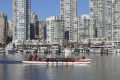 łodzi zatoczki smok fałszywy Fotografia Royalty Free