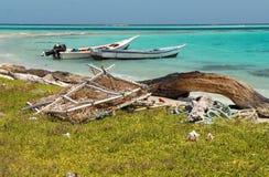 łodzie łowi dwa Fotografia Stock