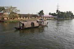 Łodzie   Alleppey, Kerala obraz royalty free