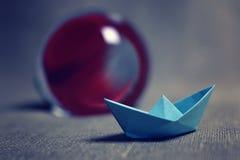 łodzie barwiący papier Fotografia Stock